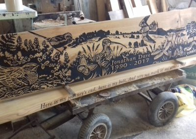 Greenspace Designs Memorial Bench