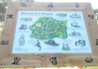 Interpretive Sign - Uffington